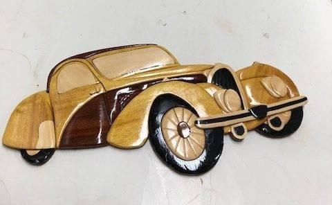 D251-Bugatti car Wall Decor